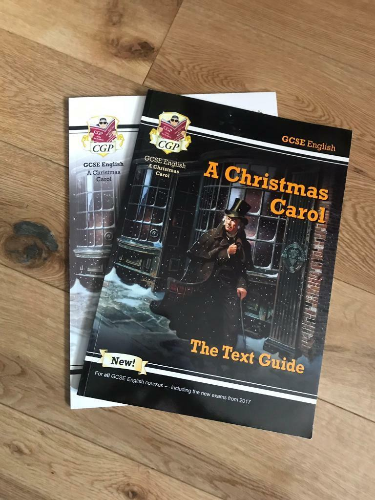 Christmas Carol Text Guide.A Christmas Carol Text Guide And Workbook In Stockport Manchester Gumtree
