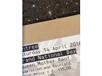 Grand National Ticket Queen Mother Roof