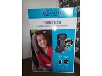 Graco Junior Maxi car seat group 2/3 the Highback Booster with FREE back seat organiser