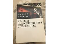 'The Dent Concertgoers Companion' by Antony Hopkins