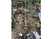 Ford transit mk7 single wheel rear axle complete off 2011