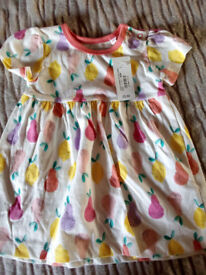 Brand New Baby Dress Bluezoo 3-6 months