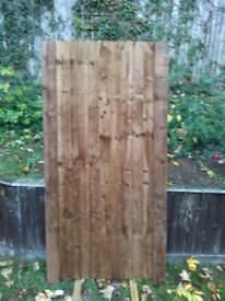 NEW HEAVY DUTY SIDE GATE, 1.8c, high x 90cm wide, £69
