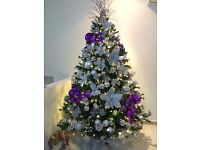 Beautiful Silver Decoration for your Christmas Tree.