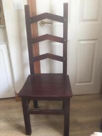 Beautiful rustic chairs