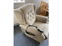 Dual motor reclining chair