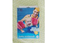 Armbands from Mothercare - new - never used (RRP £4.99)