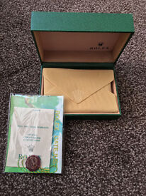Rolex Datejust Submariner Daytona Box Green Wave, *Postage Available*