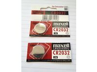 New un-opened Maxell CR2032 Lithium battery, for watch, calculator etc.