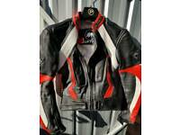 Ladies biker jacket leather