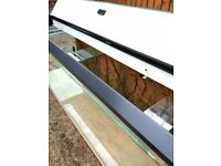 4ft fish tank with lid and stone effect cladding