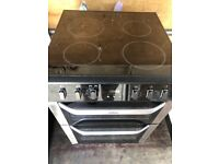 Belling FSE60DOP 60cm Double Electric Cooker in Black #5003