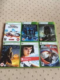 Bundle of 6 Xbox 360 Games
