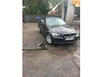 bmw 318d estate manual black rg 57 mileage 112000, 11 month mot. £2995