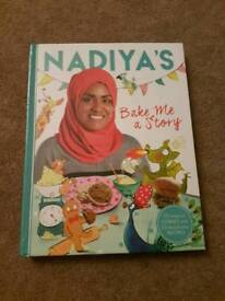 Brand new Nadiyas baking kids book