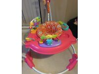 Fisher price rainforest jumperoo pink