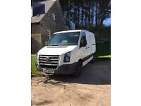 VW Crafter van 2.5 TD SWB 07 years MOT