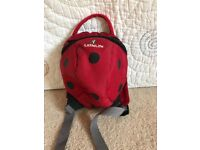 Ladybird /turtle toddler backpack with reins