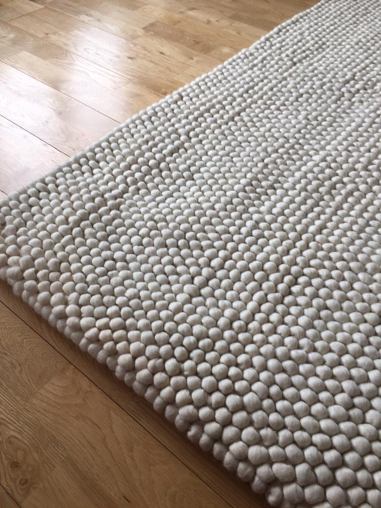 House Beautiful Pebble Bobble Rug New 160cm X 230cm In Bournemouth Dorset Gumtree