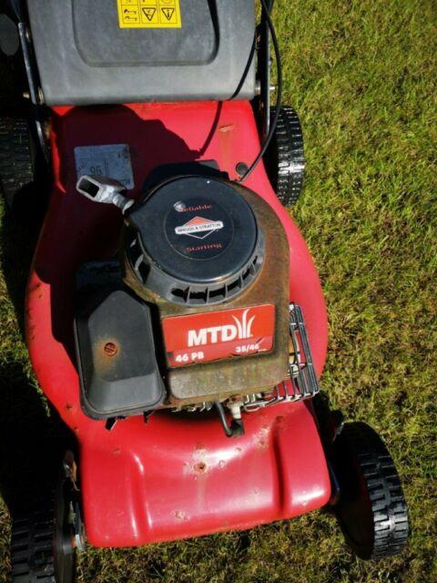 Petrol lawnmower BRIGGS &STRATTON MTD 46bp | in Livingston, West Lothian |  Gumtree
