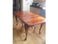 Edwardian Dining Room Furniture including side serving table