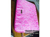Victoria's Secret laptop case/mac case