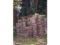 1000 unused block pavers for sale pinks and greys collection only from beal north yorkshire