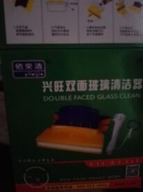 Brand new window cleaning tool for single glazed