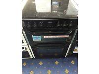 New Ex-Display Belling CFDF60DOP 60cm Dual Fuel Cooker Stainless Steel £325