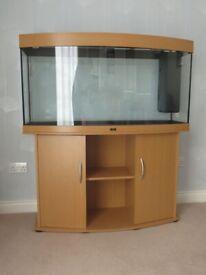 Unused Juwel Vision 260 SB aquarium and cabinet