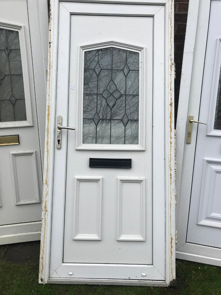 Used upvc door with frame. | in Cheadle Hulme, Manchester | Gumtree