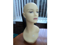 free postage to UK Top Quality Female Mannequin Head Dummy Wig Display Stand Retail Shop Hat Cap