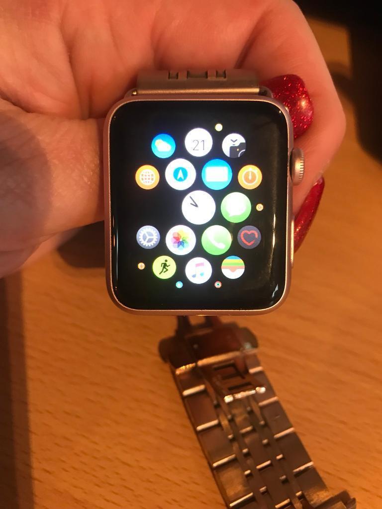 Apple Watch 1 series rose gold 42mm