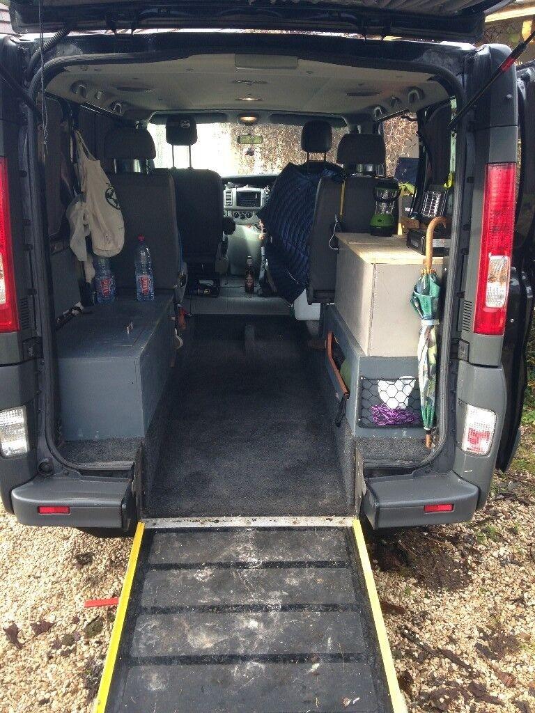 Renault Trafic Camper Van Conversion 4 Seat Solar Panel