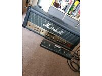 Marshall Mode 4 Amplifier head plus footswitch