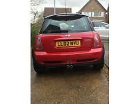 Mini Cooper S, great condition, 70.7K miles, leather interior, panoramic sunroof BMW service history