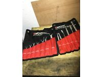 Bergen mixed spanners sets x2 like snap on Bluepoint
