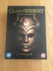 Game of thrones season 1-5 DVD