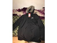North face parka jacket RRP £260
