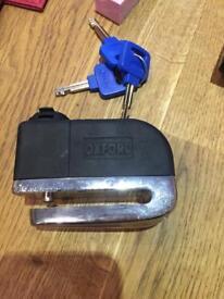 Oxford disc lock