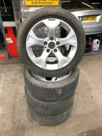 Bmw 17 inch alloys with run flats