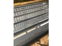 Metal cladding sheets