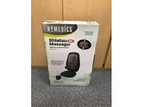 Shiatsu Massager - in original box - only used a few times - back massager with heat