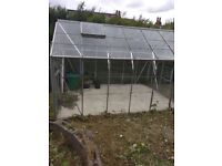 2 glass green houses for SALE