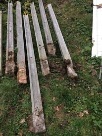 8ft fence posts