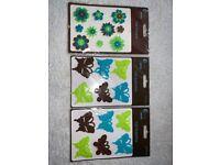 New Craft Felt Butterflies and Felt Flowers IP1