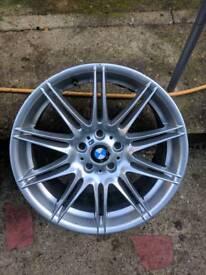 19 inch front spare genuine x1 mv4 bmw single