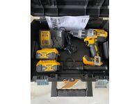 Dewalt 18v Li-ion Brushless Hammer Combi Drill Kit