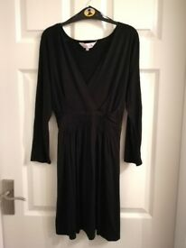 Black Debenhams Maternity Dress Size 12