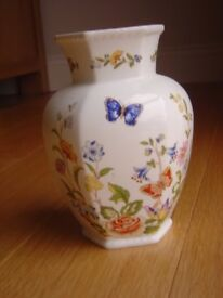 "Aynsley ""Cottage Garden"" vase"